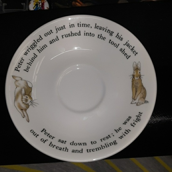 Wedgwood Other - Wedgewood Peter rabbit saucer only rare